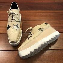 Stella Mccartney Nude Elyse Platform Laced Shoes Size 39.5 Photo