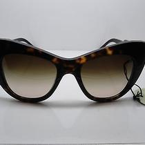 Stella Mccartney Sm 4049 2063/12 Eco Tortoise Cat-Eye Oversize 54mm Sunglasses  Photo