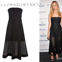 Stella Mccartney  Strapless Embroidered Organza Corset Dress  Photo