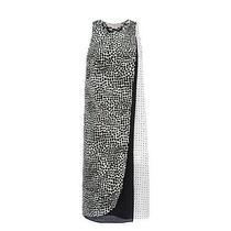 Stella Mccartney Womens Mika Paint Spotted Dress Size 40  Photo