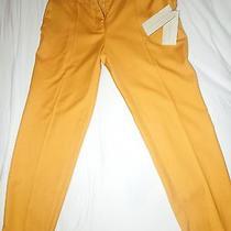 Stella Mccartney  Yellow Pants Ntw 100% Authentic Great Modern Fit  Photo