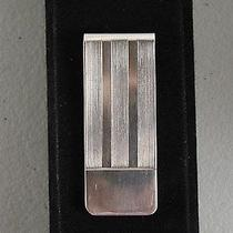 Sterling Silver 925 Tiffany & Co New York Money Clip Photo