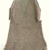Sterling Silver Antique Whiting & Davis Solid Silver Coin Purse Chain Mail Mesh Photo