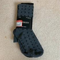 Steve Madden 2 Pack Socks Gray  Black Size 5-10 Brand New Photo