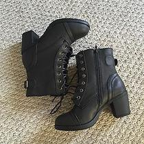Steve Madden Aldo Dolce Vita Forever21 h&m Ankle Laceup Boots Bootie Combat Photo