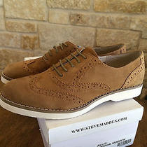 Steve Madden Allis Oxford Cognac 9.5 Womens Photo