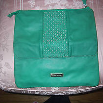 Steve Madden Authentic Green Foldable Clutch Bag New Nice Photo