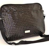 Steve Madden Black Laptop Case Non Leather Shoulder Bag Computer Photo