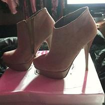 Steve Madden Blush Pink Ankle Boot Heels Size 6 Photo