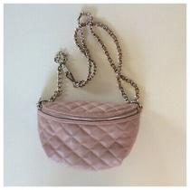 Steve Madden Blush Pink Leather Waist/fanny Pack Photo