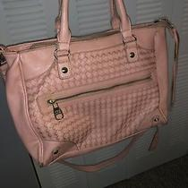 Steve Madden Blush Satchel Tote Handbag Shoulder Bag Used Photo