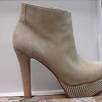 Steve Madden - Blush Suede Banngg Boot W/rhinestones Beautiful Bling Photo