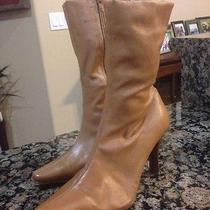 Steve Madden Boots 5.5 Cognac Photo