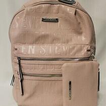 Steve Madden Bprep Logo Backpack With Clutch - Blush - Nwt Photo