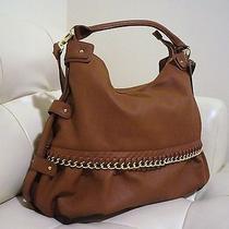 Steve Madden Brown Cognac Hobo Large Bag Photo
