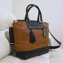 Steve Madden Brown Cognac Tote Bag Photo