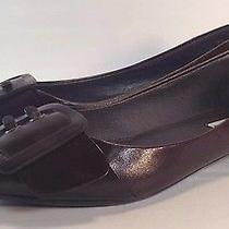 Steve Madden Brown Leather Pointy Flats Women's Shoe Size 6.5 Photo