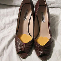 Steve Madden Brown Shoes Caddy Style Name Size 8m Photo