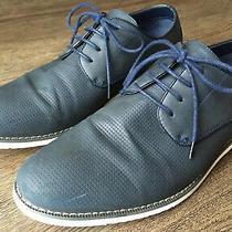 Steve Madden Buckle Mens Fallon Faux Leather Dress Shoes Size Us 10  Photo