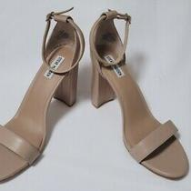Steve Madden Carrson Blush Leather Block Heel Sandal Size 12m Photo
