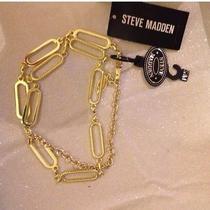 Steve Madden Chain Link Belt Photo