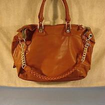 Steve Madden Cognac Bsociall Satchel Handbag Nwt Photo