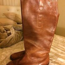 Steve Madden Cognac Tall Boots Photo