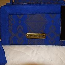 Steve Madden Continental Zip Wallet / Clutch Genuine Leather