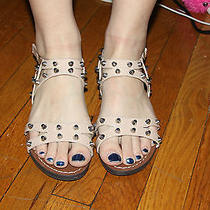 Steve Madden Corrin Blush Patent Studded Sandal Size 6m Photo