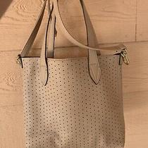 Steve Madden Crossbody Strap & 2-Handle Faux Leather Tote Bag Blush Pink Camel Photo