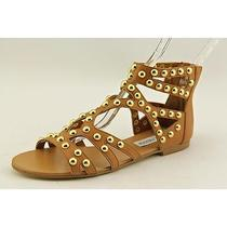 Steve Madden Culver-S Womens Size 6.5 Tan Gladiator Sandals Shoes Photo