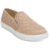 Steve Madden Ecntrcqt Quilted Sneakers Slip-on Casual Shoes Women Blush Size 7.5 Photo