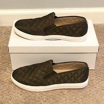 Steve Madden Ecntrcqt Slip on Sneakers Olive 9.5 Fits Like a 9 New in Box Photo