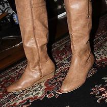 Steve Madden Elevated Cognac Boot Size 9 Photo