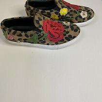 Steve Madden Even Leopard Floral Slip on Sneakers 7 Photo