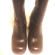 Steve Madden Fantasy Brazilian Leather Boots Size 7b Photo