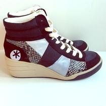 Steve Madden Fix Wedge Sneakers Size 9.5 Photo
