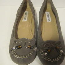 Steve Madden   Flat Shoes  Grey Moccs Suede 6 1/2 Photo