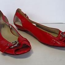 Steve Madden Flat Shoes Size 8.5m Red  Photo