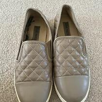 Steve Madden Gills Grey/tan Women Size 7 Photo