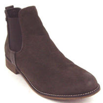 Steve Madden Gilte Brown Nubuck Ankle Booties Women's Shoes 7.5m Used/damaged Photo