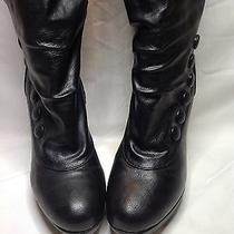 Steve Madden Girl Black Knee Boot Platform Heels Camille Shoes Size 7  Closet Photo