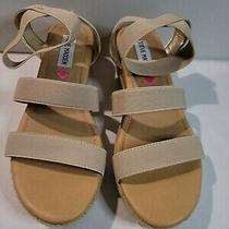 Steve Madden Girls Stappy Size 4 Note Glue Spot Sb12sre3 Photo
