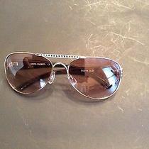 Steve Madden Gold Brown Aviator Sunglasses Steve Madden Shades New Photo