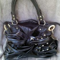 Steve Madden Gorgeous Black Hobo Handbag Preloved Photo