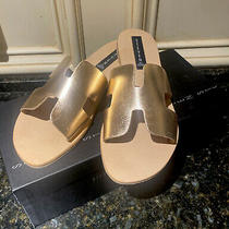Steve Madden Greece Sandals - Rose Gold - Size 9.5 Brand New Photo