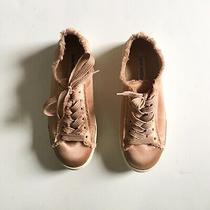 Steve Madden Greyla Sneakers Size 9 Blush Pink Lace Up Womens Platform Street Photo