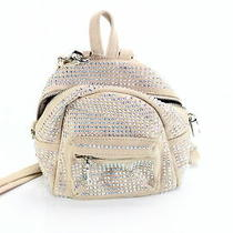 Steve Madden Handbag Blush Pink Scottie Crystal Crossbody Backpack 78 224 Photo