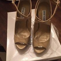 Steve Madden Hotness Blush Patent Leather Heels 6.5  New in Box Photo