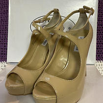 Steve Madden Hottness Blush Patent Heel Sz 8 Md Photo